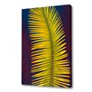 Menaul Fine Art 'Palm Frond' by Scott J. Menaul Graphic Art on Wrapped Canvas