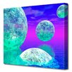 Menaul Fine Art 'Spheres' by Scott J. Menaul Graphic Art on Wrapped Canvas