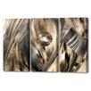 Menaul Fine Art 'Abstract Jungle Triptych' by Scott J. Menaul 3 Piece Graphic Art on Wrapped Canvas Set