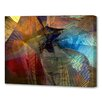 Menaul Fine Art 'Winged Guardian Horizontal' by Scott J. Menaul Graphic Art on Wrapped Canvas