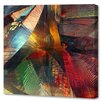 Menaul Fine Art 'Gemstone Burst' by Scott J. Menaul Graphic Art on Wrapped Canvas
