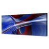 Menaul Fine Art 'Skyware Petros Panorama' by Scott J. Menaul Graphic Art on Wrapped Canvas