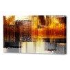 Menaul Fine Art 'City Rain Horizontal' by Scott J. Menaul Graphic Art on Wrapped Canvas