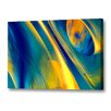 Menaul Fine Art 'Way Cool Blue' by Scott J. Menaul Graphic Art on Wrapped Canvas