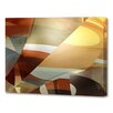 Menaul Fine Art 'Pieces' by Scott J. Menaul Graphic Art on Wrapped Canvas