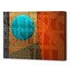 Menaul Fine Art 'Rising Moon' by Scott J. Menaul Graphic Art on Wrapped Canvas