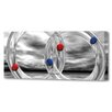 Menaul Fine Art 'Glass Rings and Spheres Horizontal' by Scott J. Menaul Graphic Art on Wrapped Canvas