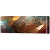 Menaul Fine Art 'Earth Atlantis Horizontal' by Scott J. Menaul Graphic Art on Wrapped Canvas
