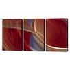 Menaul Fine Art 'Autumn Musings Triptych' by Scott J. Menaul 3 Piece Graphic Art on Wrapped Canvas Set