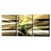 Menaul Fine Art 'Rebirth Triptych' by Scott J. Menaul 3 Piece Graphic Art on Wrapped Canvas Set