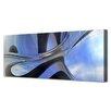 Menaul Fine Art 'Skyware Horizon' by Scott J. Menaul Graphic Art on Wrapped Canvas