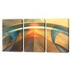 Menaul Fine Art 'Delphic Sanctuary Triptych' by Scott J. Menaul 3 Piece Graphic Art on Wrapped Canvas Set