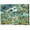Menaul Fine Art 'Gilded Ice' by Scott J. Menaul Graphic Art on Wrapped Canvas