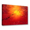 Menaul Fine Art 'Hot Ice' by Scott J. Menaul Graphic Art on Wrapped Canvas