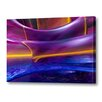 Menaul Fine Art 'Waves' by Scott J. Menaul Graphic Art on Wrapped Canvas