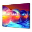 Menaul Fine Art 'Sunset Spheres' by Scott J. Menaul Graphic Art on Wrapped Canvas