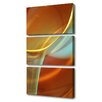 Menaul Fine Art 'Morning Kiss' by Scott J. Menaul 3 Piece Graphic Art on Wrapped Canvas Set