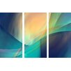 Menaul Fine Art 'Musings Triptpych' by Scott J. Menaul 3 Piece Graphic Art on Wrapped Canvas Set