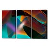 Menaul Fine Art 'Robusta Triptych' by Scott J. Menaul 3 Piece Graphic Art on Wrapped Canvas Set