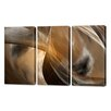 Menaul Fine Art 'Cavern Vision Triptych' by Scott J. Menaul 3 Piece Graphic Art on Wrapped Canvas Set