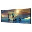 Menaul Fine Art 'Afternoon Regatta' by Scott J. Menaul Graphic Art on Wrapped Canvas