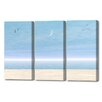Menaul Fine Art 'Moon Sky Triptych' by Scott J. Menaul 3 Piece Graphic Art on Wrapped Canvas Set