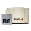 Generac Guardian Automatic Home 7 Kw Air-Cooled 50 Amp Dual Fuel Standby Generator 8 Circuit Transfer Switch without Whip