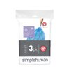 simplehuman Code V Custom Fit Recycling Liner (3 Pack)