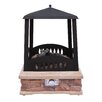 Landmann Grandview Steel Gas Outdoor Fireplace