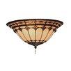 Elk Lighting Forever Lasting Diamond Ring 2 Light Bowl Ceiling Fan Light Kit