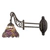 Rosalind Wheeler Clemence 1 Light Swing Arm Wall Sconce