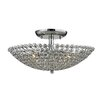 Elk Lighting Hammond 3 Light Semi Flush Mount