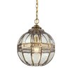 Elk Lighting Randolph 1 Light Globe Pendant