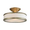 Elk Lighting Clarkton 3 Light Semi Flush Mount