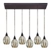 Elk Lighting Danica 6 Light Kitchen Island Pendant