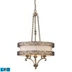 Elk Lighting Abington 3 Light Drum Pendant