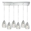 Elk Lighting Geval 6 Light Kitchen Island Pendant
