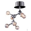 Elk Lighting Molecular 7 Light Semi Flush Mount