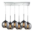 Elk Lighting Cassandra 6 Light Kitchen Island Pendant