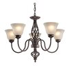 Elk Lighting Santa Fe 5 Light Mini Chandelier