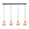 Elk Lighting Layers 4 Light Kitchen Island Pendant