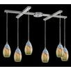 Elk Lighting Geologic 6 Light Pendant