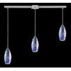 Elk Lighting Iridescence 3 Light Linear Pendant