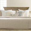Hooker Furniture Melange Wood and Metal Headboard