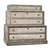 Hooker Furniture 3-Drawer Mirrored Lateral File