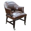 Hooker Furniture Isadora Mid-Back Leather Desk Chair
