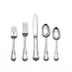 Towle Silversmiths Sterling Silver French Provincial 46 Piece Dinner Flatware and Serving Set