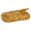 Bérard France Olive Wood 29cm Cheese Board and Knife Set