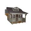 Little Cottage Company Craftsman 11x10 DIY Kit Playhouse