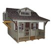 Little Cottage Company Craftsman 11x12 DIY Kit Playhouse